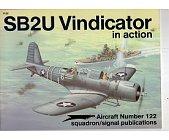 Szczegóły książki SB2U VINDICATOR IN ACTION