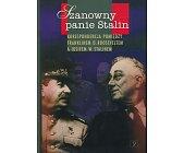 Szczegóły książki SZANOWNY PANIE STALIN