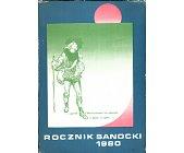 Szczegóły książki ROCZNIK SANOCKI 1980