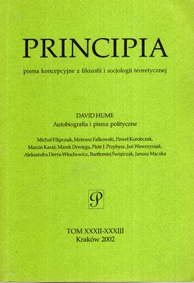 PRINCIPIA - TOM XXXII - XXXIII