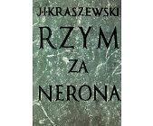 Szczegóły książki RZYM ZA NERONA