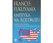 Szczegóły książki AMERYKA NA ROZDROŻU