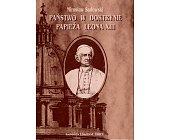Szczegóły książki PAŃSTWO W DOKTRYNIE PAPIEŻA LEONA XIII