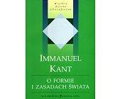 Szczegóły książki O FORMIE I ZASADACH ŚWIATA...